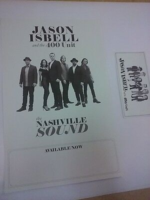 POSTER by JASON ISBELL and the 400 unit nashville sound rare promo for album cd