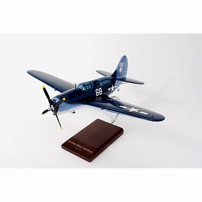 Beautiful Hand Carved  Sb-2C Helldiver 1/32 New In The Box