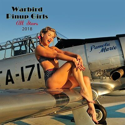 Warbird Pinup Girls 2018 Calendar - PhotoArt