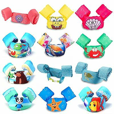 Kids Puddle Jumper Life Jacket Vest Swim Trainers Arm Floats Arm Bands Rings Hot