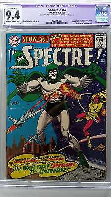 Showcase #60 CGC 9.4 NM  (Restored A-1)  1st Silver Age Appearance Spectre