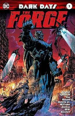 DARK DAYS THE FORGE #1, COVER A, New, First print, DC Comics (2017)