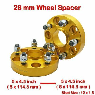 """HUB CENTRIC 1.5/"""" WHEEL ADAPTERS SPACERS 5x114.3 FOR CAMRY SIENNA SOLARA 38mm"""