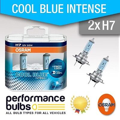 H7 Osram Cool Blue VAUXHALL ASTRA Mk6 (J) TURBO VXR 06-> High Beam Bulbs