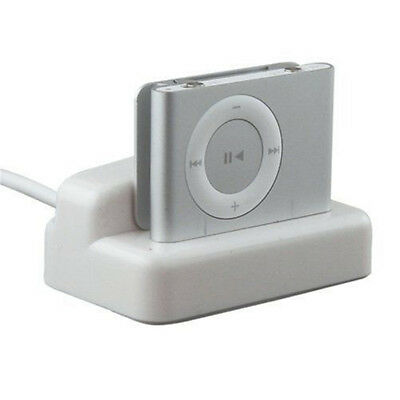 USB for iPod Shuffle 2nd Gen Charger Docking & Sync Dock Station Cradle Cable 1M