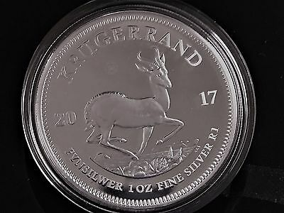 2017 S Africa PROOF Silver Krugerrand - 50th Anniversary - 15k exist - SEALED