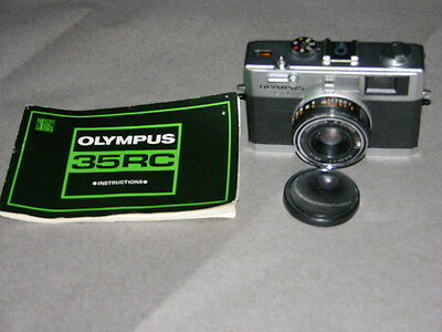 Olympus 35 RC Rangefinder Camera with 42mm f2.8 Lens