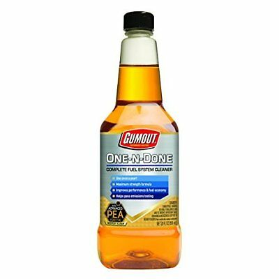 Gumout® 510112  Gumout  20Oz One-N-Done Complete Fuel System Cleaner
