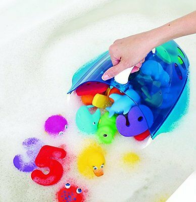 NEW Munchkin Large Bath Scoop Sorting Toy - Blue