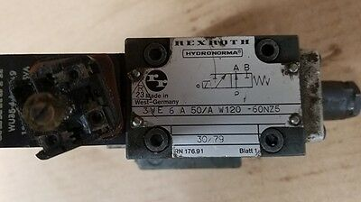 Rexroth Solenoid Valve 3WE6A50/AW120-60NZ5