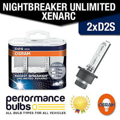 Vauxhall Zafira A 98-05 Low Beam Hid Bulbs [D2S] Osram Night Breaker Xenarc