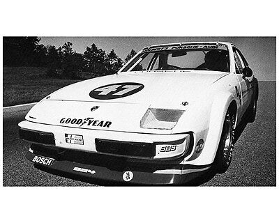1981 Porsche 924 Turbo Carrera Al Holbert SCCA GT Race Car Photo ca7734