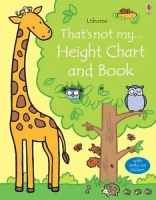 That's Not My Height Chart and Book by Fiona Watt 9781409597360 (2015)