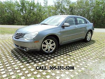 2007 Chrysler Sebring Limited Navi DVD Leather Sunroof Fully loaded 2007 Chrysler Sebring Sdn Limited Navi DVD Leather Sunroof Fully loaded