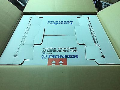 Pioneer LD-1100 Laser Disc Player Vintage Original Motion Picture Cinema In-Box