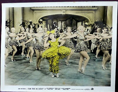 Jane Withers 11x14 ORIGINAL 1936 Promo Photo Can This Be Dixie? Showgirls