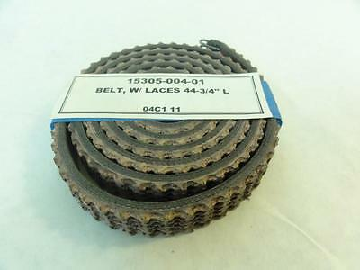 "168298 Old-Stock, Bradman Lake 15305-004-01 Belt w/ SS Lace, 44-3/4"" Length"
