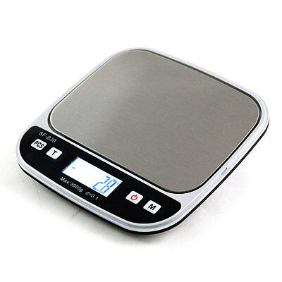 0.01g/500g 1.1LB Lab Digital LCD Balance Weight Pocket Jewelry Diamond Scale