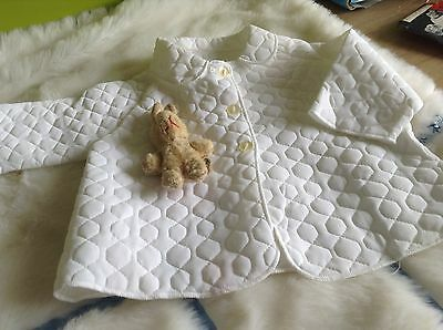 AUTHENTIC VINTAGE INFANT BABY CHILDRENS PRAM COAT 6/9 MONTHS  70 s  UNUSED