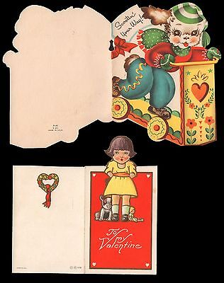 Unused Vintage Valentine's Greeting Cards