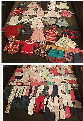 baby girls 6-9 9-12 months clothes bundle 141 items