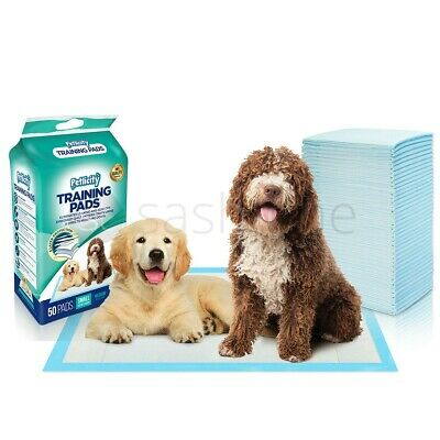 Large 100 Puppy Trainer Training Pads Toilet Pee Wee Mats Dog Cat 45Cm X 60Cm