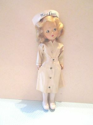 "Vintage ""1953"" ""miss Curity"" Doll Adorable"