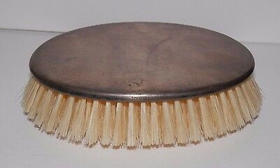 Nice Antique Sterling Silver Clothing Garment Brush Dresser Vanity Simple Plain