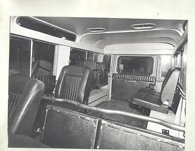 1972 Land Rover Santana Spain Interior ORIGINAL Factory Photograph wy1185