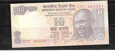 INDIA #102d 2012 UNC 10 RUPEES BANKNOTE PAPER MONEY CURRENCY BILL NOTE