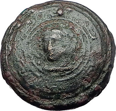 ALEXANDER III the Great as Hercules on Shield 323BC Ancient Greek Coin i61574