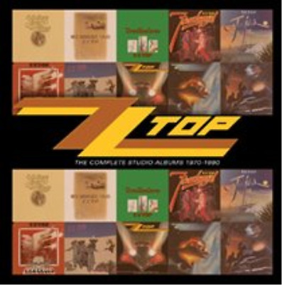ZZ Top-The Complete Studio Albums 1970-1990  CD NEU