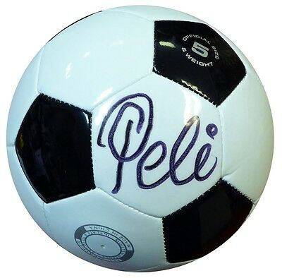 Pele Authentic Autographed Signed Wilson Soccer Ball Brazil PSA/DNA Certified