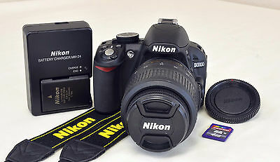 Nikon D3100 14.2 MP DSLR Digital Camera Kit w/AF-S DX VR 18-55mm 3.5-5.6G Lens