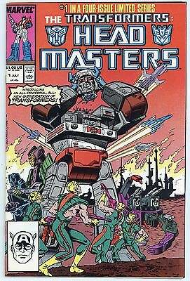 The Transformers: Head Masters #1 thru 4  VF to NM (Complete set)