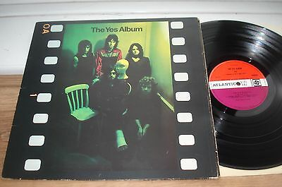 Yes The Yes Album 1ST PRESS!! A1/B1 SUPERB AUDIO! PLUM RED ORIGINAL 1971 UK LP