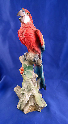 "7-1/2"" Colorful Resin Parrot Figurine -o3"
