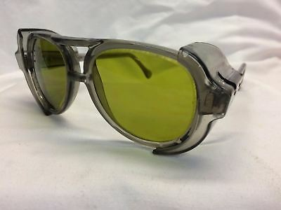 American Optical AO Vintage New Old Stock Safety Glasses Pilot Green Z87 UV400