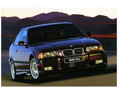 1998 BMW M3 E36 Coupe Sedan Factory Photo ca7795