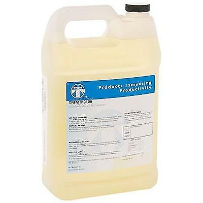 TRIM Cutting & Grinding Fluids 9106/1 Synthetic Coolant, 1 gal Jug New
