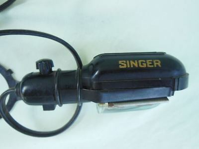vintage Singer BAKELITE sewing machine light Works
