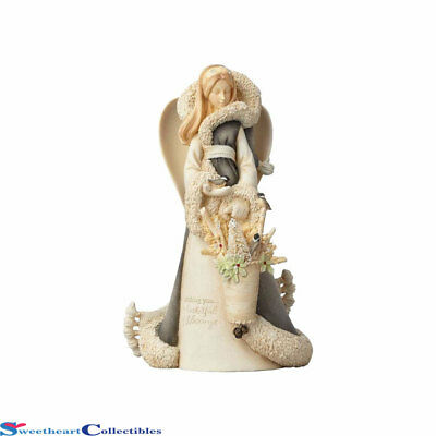 Enesco Foundation 4058711 Woodland Angel Deluxe 15th Anniversary 2017