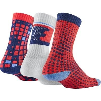 New Nike Performance Cotton Cushioned Youth Socks SZ 5Y-7Y SX5097-941 6 Pack