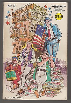 Overstreet Comic Book Price Guide #6 ~ 1976 Updated Edition Used