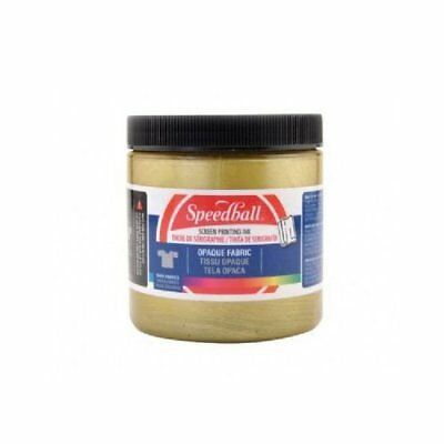 Speedball Art Products 4808 Opaque Screen Ink Gold 8Oz