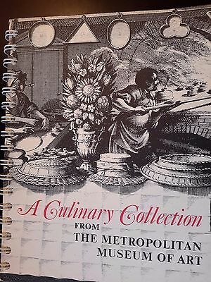 A Culinary Collection from The Metropolitan Museum of Art by Gillies 1973 Spiral