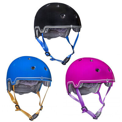 Globber Skate, Scooter & Bike Helmet With Head Lock & Magnetic Catch