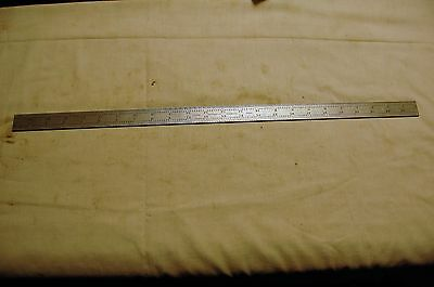 "Starrett 24"" Scale/Ruler No. 4R Grad."
