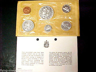 Lot of 3: 1965 Canada Silver Proof-Like Sets w/ Envelope and Insert Uncirculated