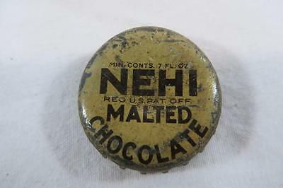 Vintage Nehi Malted  Chocolate Bottle Cap Charlottesville Covington VA